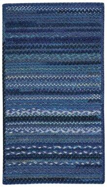 Bayview Twilight Blue Braided Rugs
