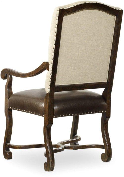 Treviso Camelback Arm Chair