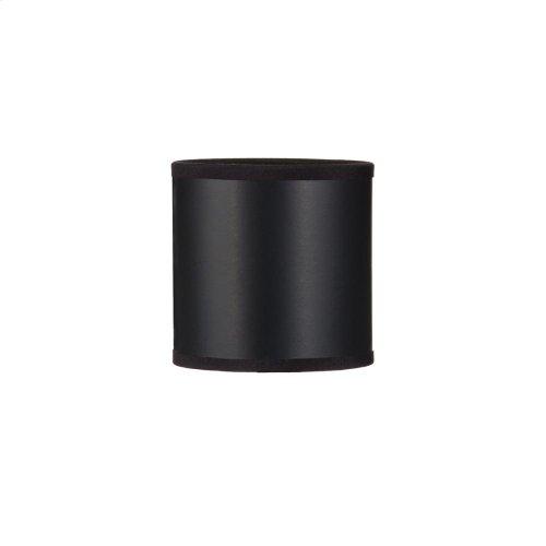 Black Paper Chandelier Shade