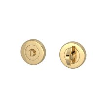Half Moon Turn & Release Sets In Polished Brass