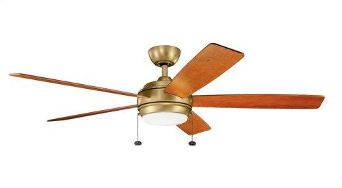 "Starkk LED 60"" Fan Natural Brass"