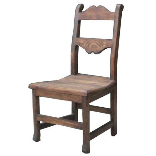 Tuscan Chair W/Wood Seat