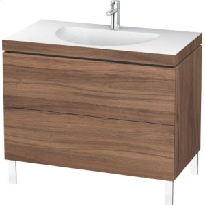 Furniture Washbasin C-bonded With Vanity Floorstanding