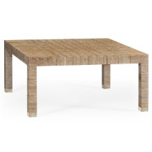 Classic Houndstooth Coffee Table