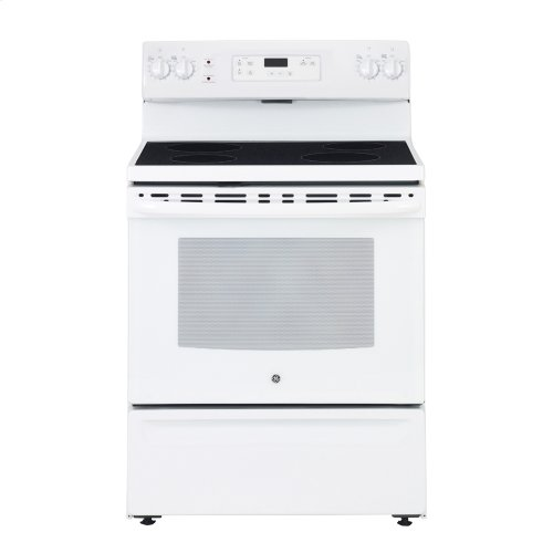 "30"" Free Standing Electric Standard Clean Range"
