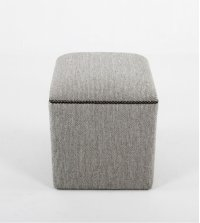 Small ottoman with nails Product Image