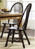 Sheaf Back Side Chair - Black Product Image