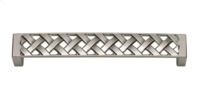 Lattice Pull 5 1/16 Inch (c-c) - Brushed Nickel