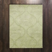 Arches Rug-Green/Ivory-9 x 12