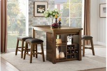 Counter Height Table & 4 Stools