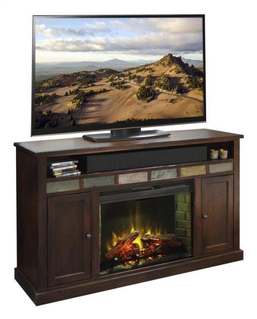 "Fire Creek 62"" Fireplace Console"