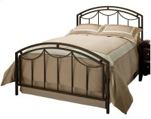 Arlington Bed Set In Bronze Metal (bed Frame Included) - Queen