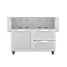 "42""dbl Drawer and Door Cart Product Image"