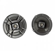 """DB+ Series 6.5"""" Coaxial Speakers with Marine Certification in Black"""