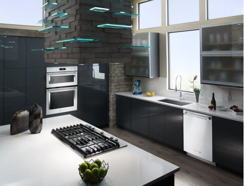 """30"""" Combination Wall Oven with Even-Heat True Convection (Lower Oven) - White"""