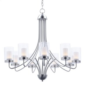 Mod 9-Light Chandelier