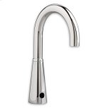 American StandardPolished Chrome Selectronic Gooseneck Proximity Faucet, Multi-AC, VR 0.5 gpm Multi-Laminar Spray