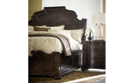 La Bella Vita Sleigh Bed - King