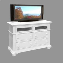 Four Drawer Entertainment Center