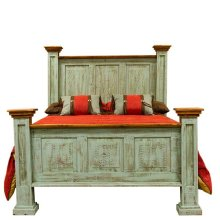 Queen Turquoise Oasis Bed