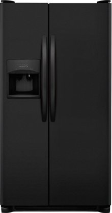 Crosley Side By Side Refrigerator - Black