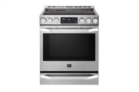 LG STUDIO 6.3 cu. ft. Electric Single Oven Slide-In-range with ProBake Convection®