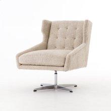 Walter Swivel Chair-plushtone Linen