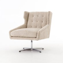 Walter Swivel Chair-plushtone Linen