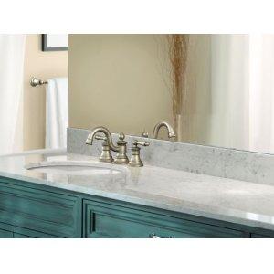 "Waterhill brushed nickel 18"" towel bar"