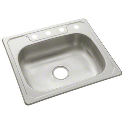 "Middleton™ Single-basin Kitchen Sink, 25"" x 22"""