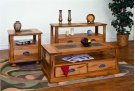 """Sedona Coffee Table Dimensions: 48"""" X 24"""" X 18""""h Product Image"""