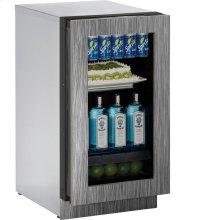"""3018RGL Refrigerator 18"""" RHH Glass Door"""