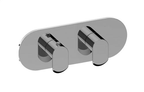 Phase M-Series Valve Horizontal Trim with Two Handles