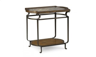 Continental Rec End Table - Weathered Nutmeg/Glazed Ingot