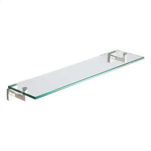 "Polished Nickel 24"" Shelf"