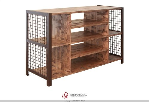 Sofa Table with 8 open compartments