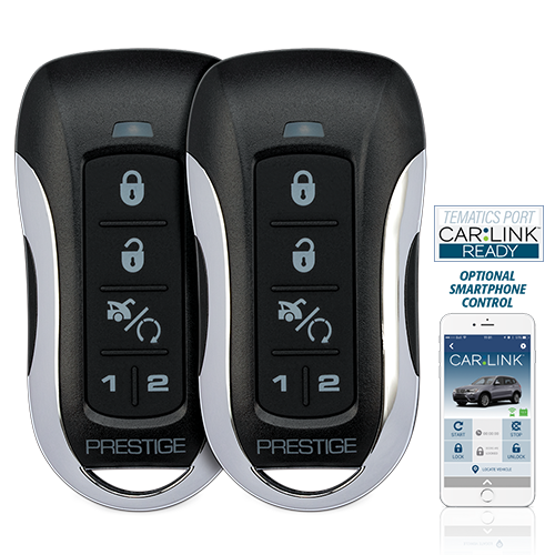 One-Way Remote Start / Keyless Entry and Security System with up to 1 Mile Operating Range