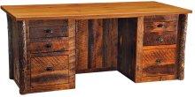 Executive Desk Antique Oak Top