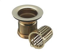 Jr. Basket and Strainer - Antique Brass
