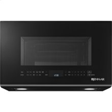 "Black Floating Glass 30"" Over the-Range Microwave Oven"