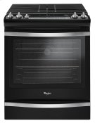 5.8 Cu. Ft. Front Control Gas Range with Center Oval Burner Product Image