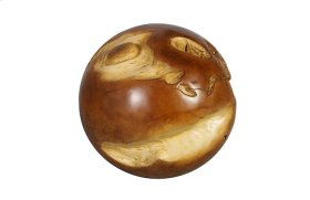Cast Root Floor Ball Resin, Natural Finish, MD