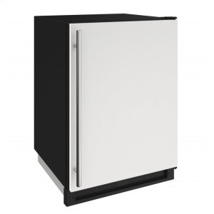 "U-Line 1000 Series 24"" Convertible Freezer With White Solid Finish And Field Reversible Door Swing (115 Volts / 60 Hz)"