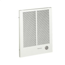 Wall Heater, High Capacity, White, 1500/3000W 240VAC, 1125/2250W 208VAC.