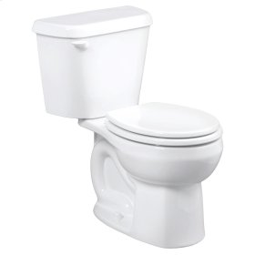 Colony Round Front Toilet - 10 Inch Rough-in - 1.28 gpf - White