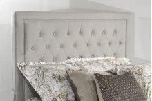 Kaylie Upholstered Panel Headboard - King - Dove Gray