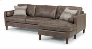 Vivian Leather Sectional Product Image