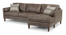 Vivian Leather Sectional