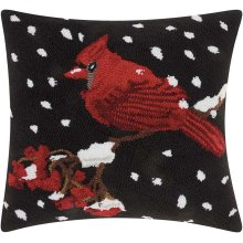 "Home for the Holiday Yx020 Multicolor 18"" X 18"" Throw Pillows"