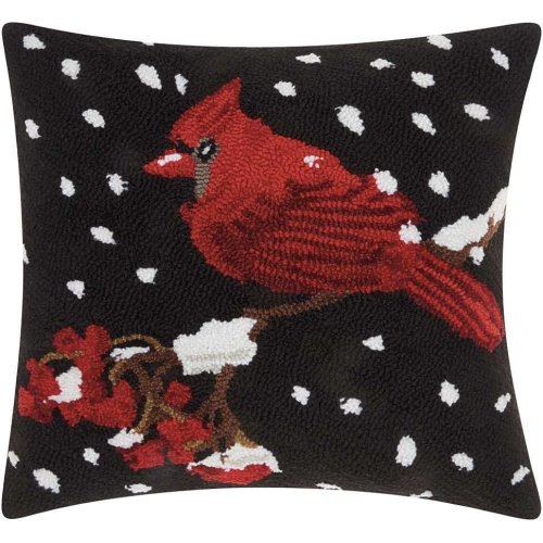 """Home for the Holiday Yx020 Multicolor 18"""" X 18"""" Throw Pillows"""